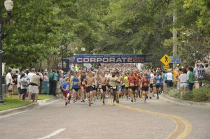 The start of last months IOA Corporate 5K
