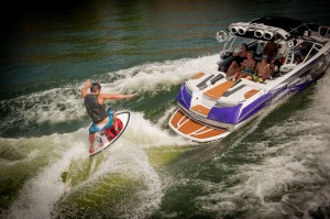 Nautique Boats showcases wakesurfing demos at Orlando Extreme Watersports Fest October 19 at Lake Ivanhoe